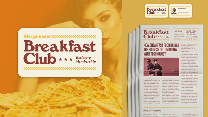 Breakfast Club features quarterly newspapers and exclusive updates