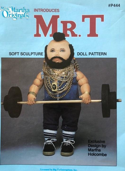 Miss Martha Originals Soft Sculpture Pattern Book