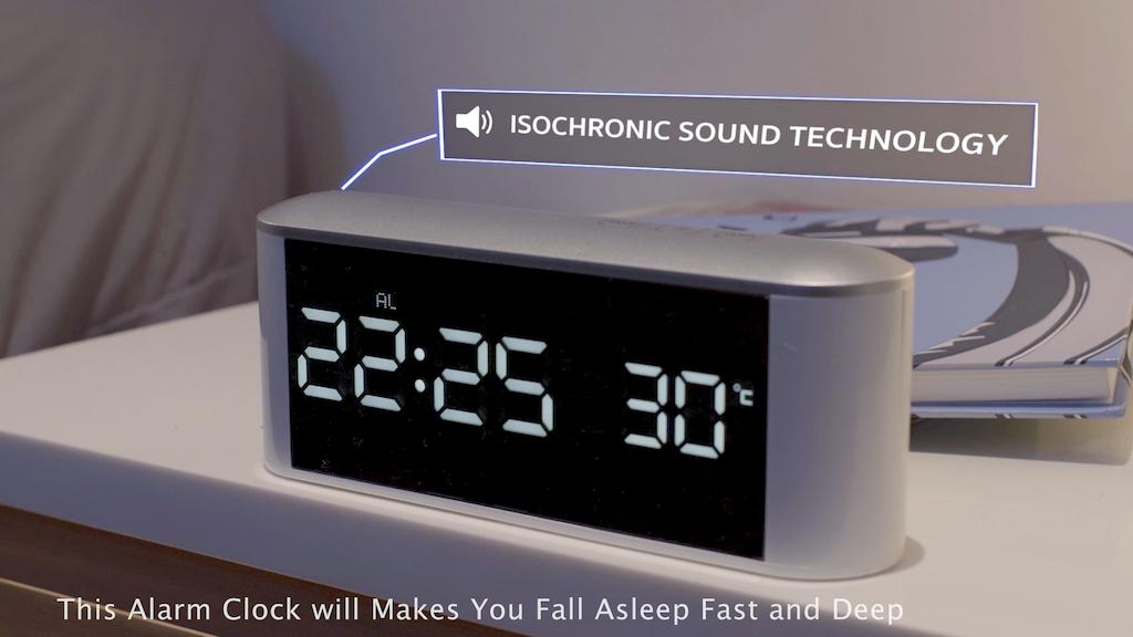 BANALA: Alarm Clock that Makes You Fall Asleep Fast and Deep