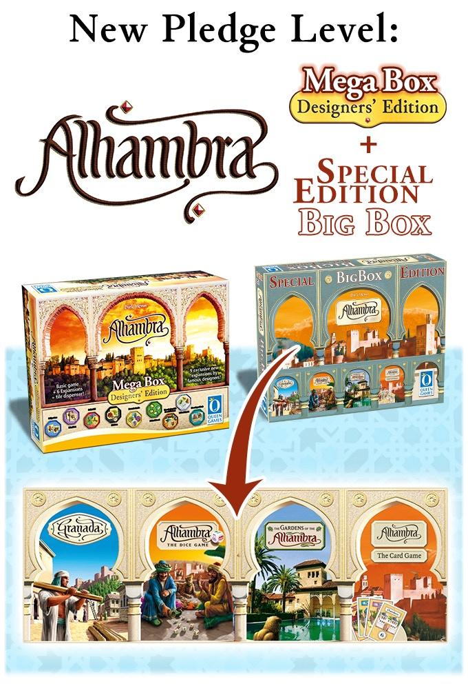 Mega Box & Alhambra Special Big Box
