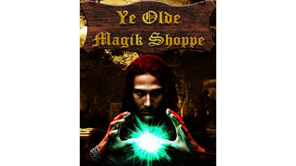 Project image for Ye Olde Magick Shoppe: A Fantasy Anthology