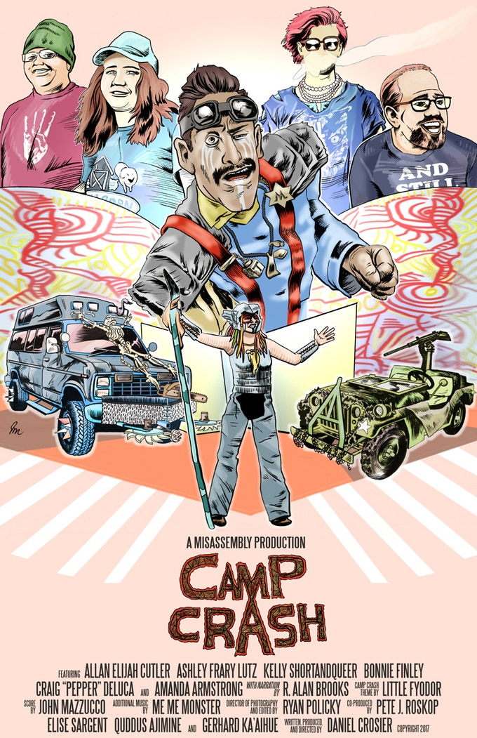 Camp Crash episode 1 poster by J. James McFarland