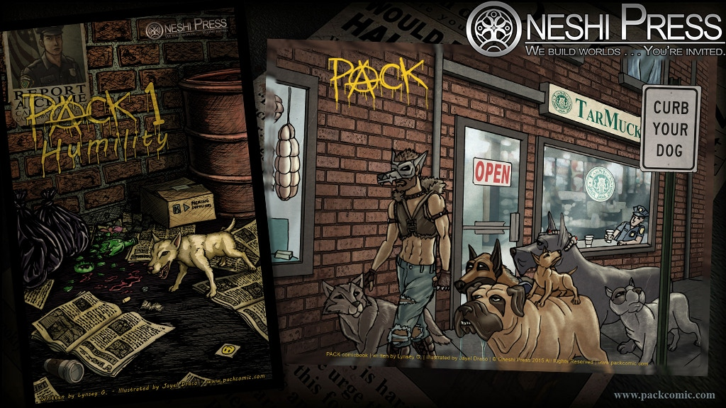 PACK #01: Humility, a comic book from Oneshi Press project video thumbnail
