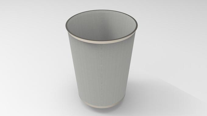 3D CAD File: Final Design of Filter