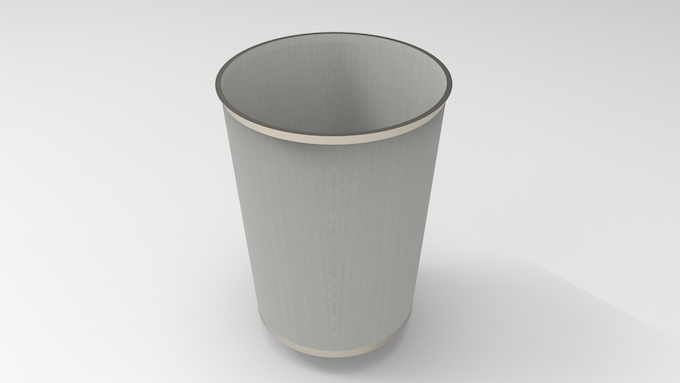 3D CAD File: Final Design of Filter