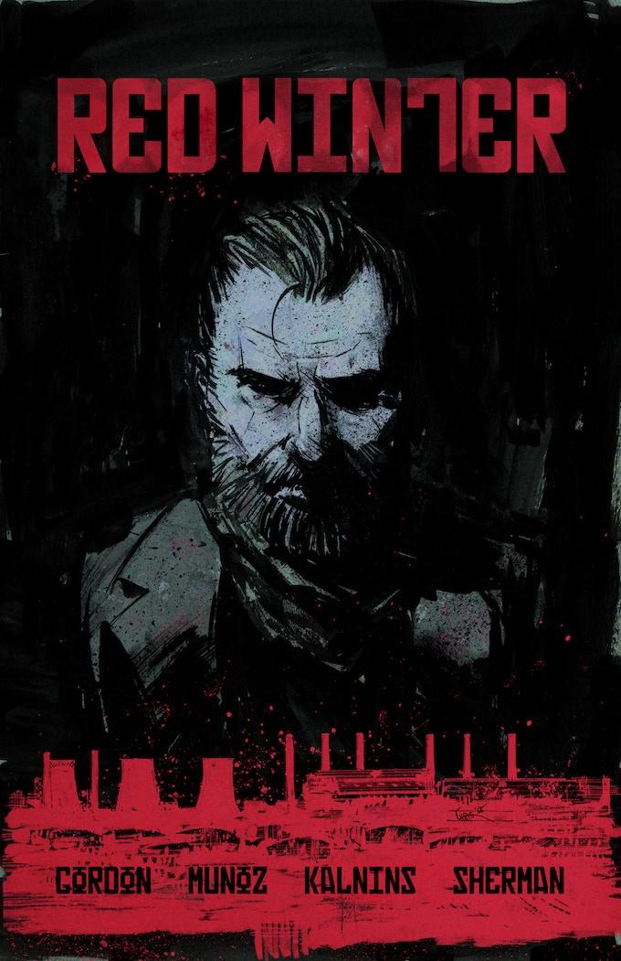 #1 cover by Chris Shehan (Prometheus, Deadbeat)