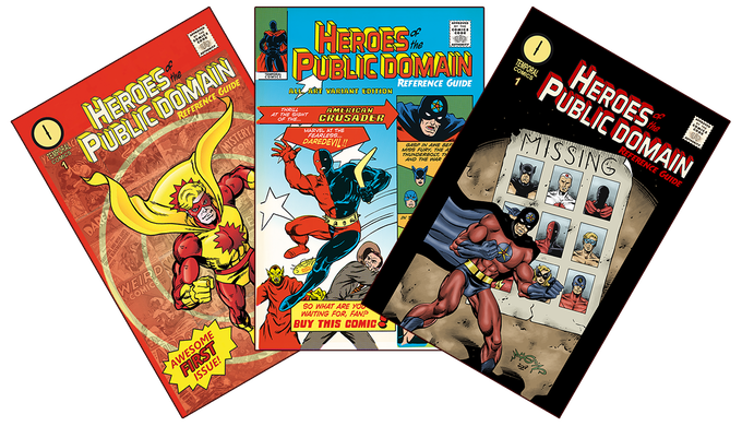 All 3 covers of our first issue