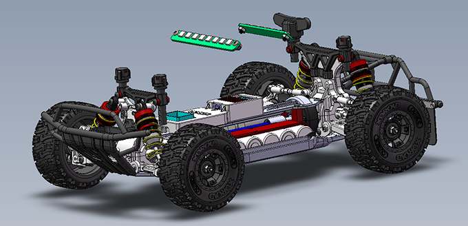 Improvement and redesign of the car's main structure was a priority to start pre-production.
