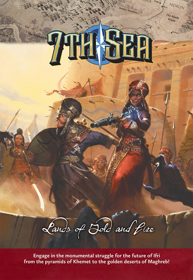 Lands of Gold and Fire cover preview