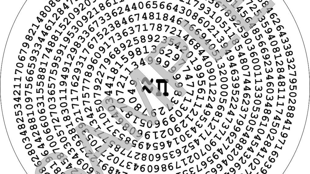777 digits of pi beverage coasters project video thumbnail