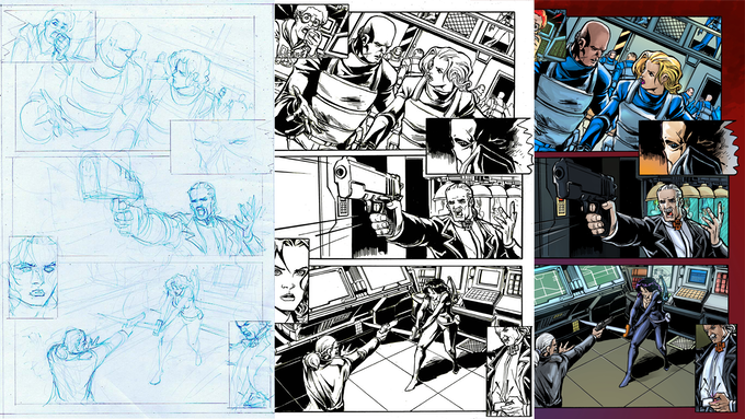 PENCILS, INKS, and COLORS Example