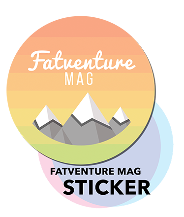 Fatventure Mag Sticker