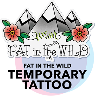 Fatventure Mag Temporary Tattoo
