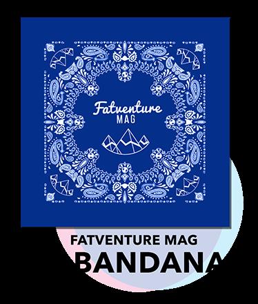 Fatventure Mag Bandana