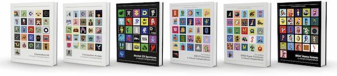 The full range of visual compendium books