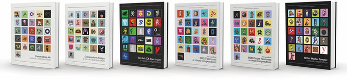 The full range of visual compendium books