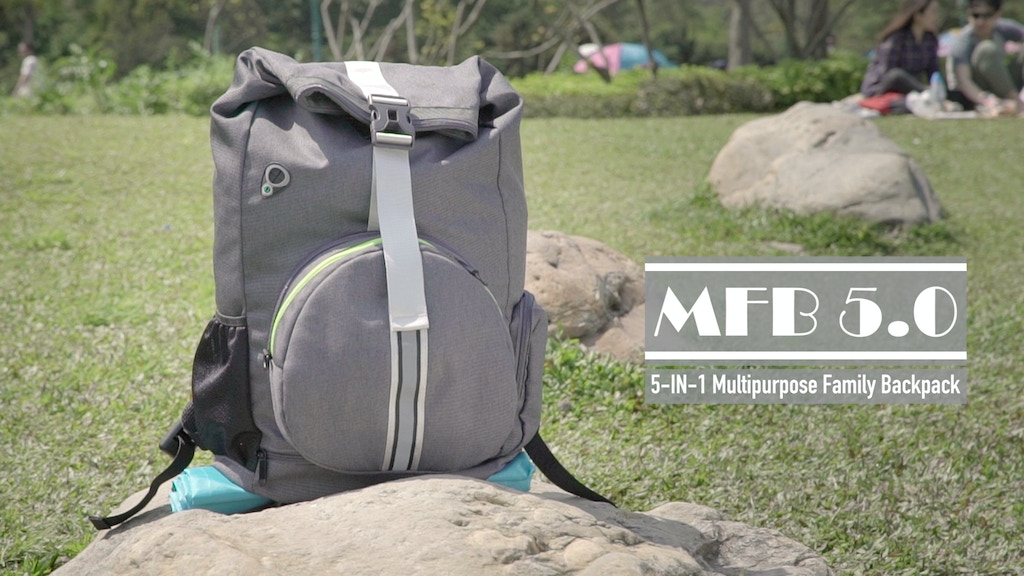 MFB 5.0 / 5-IN-1 MULTIPURPOSE FAMILY BACKPACK project video thumbnail