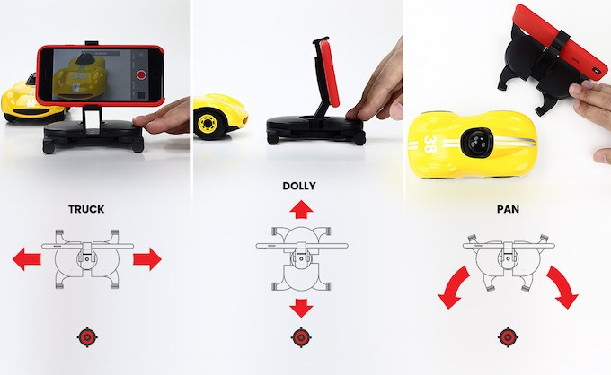 MUWI is handy. You can easily achieve truck, pan and dolly shots.
