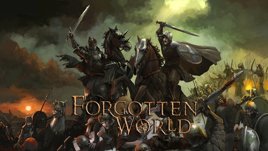 Forgotten World: Fantasy Figures for Wargames and Roleplay project video thumbnail