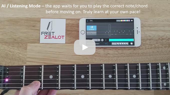 Fret Zealot Play Bass In 60 Seconds By Edge Tech Labs Kickstarter