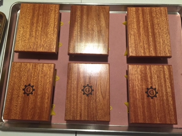 African Mahogany MC Boxes