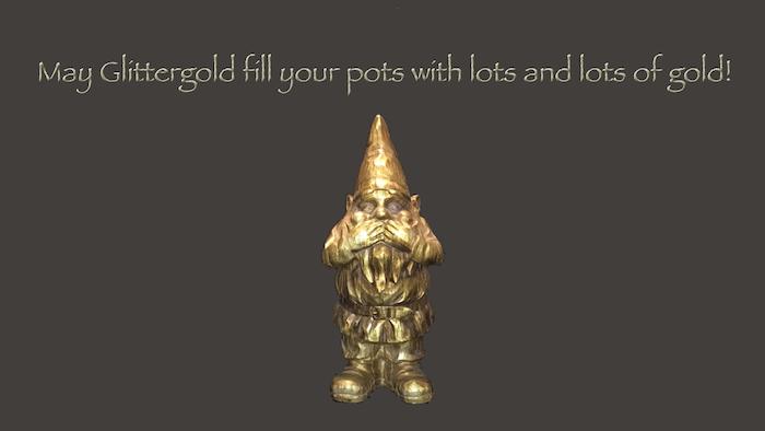 Glittergold's Blessing
