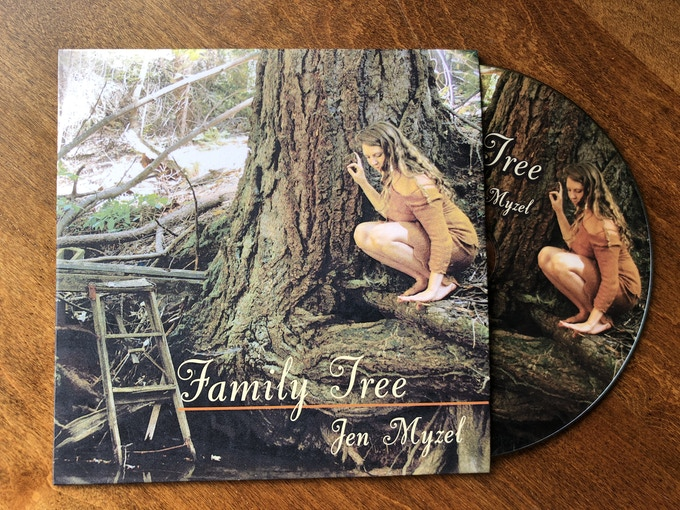 Family Tree, Jen Myzel's album from 2013 about reconnecting to ancestry and the Earth