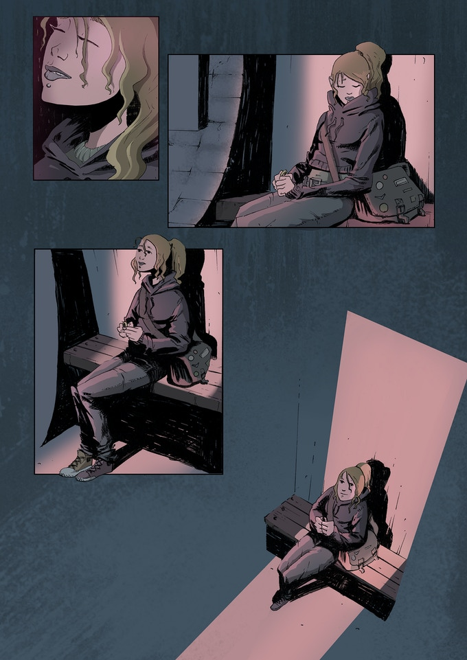 Artwork from Coronary: Episode One.