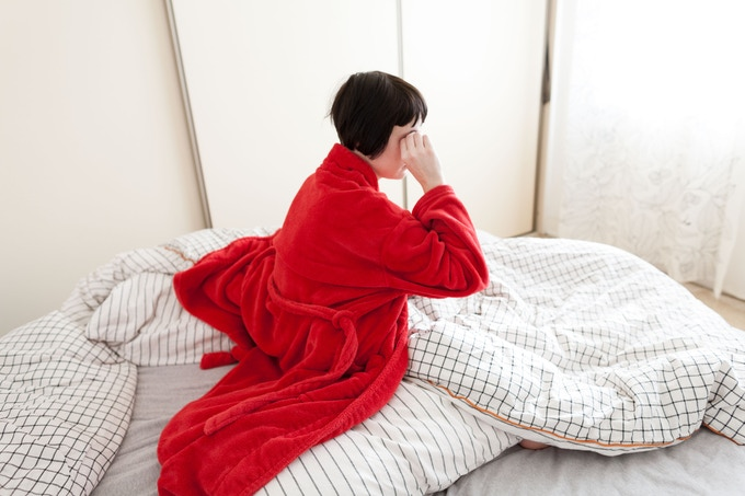 'Red Dressing Gown' (image available on a postcard)