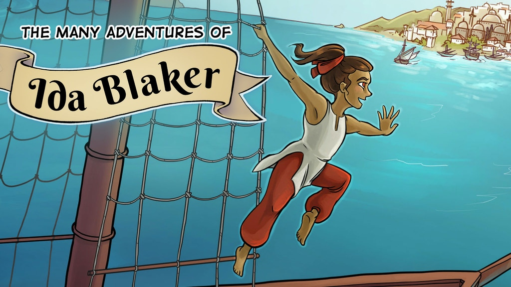The Many Adventures of Ida Blaker Mini Comic project video thumbnail