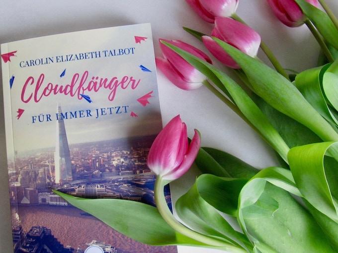 "Roman ""Cloudfänger – Für immer jetzt"""