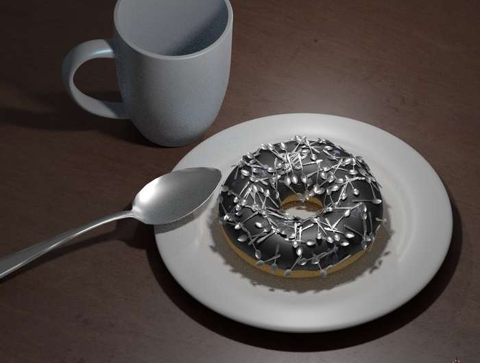 All objects created from scratch in Blender.  ©2018 Ginosaji Pictures