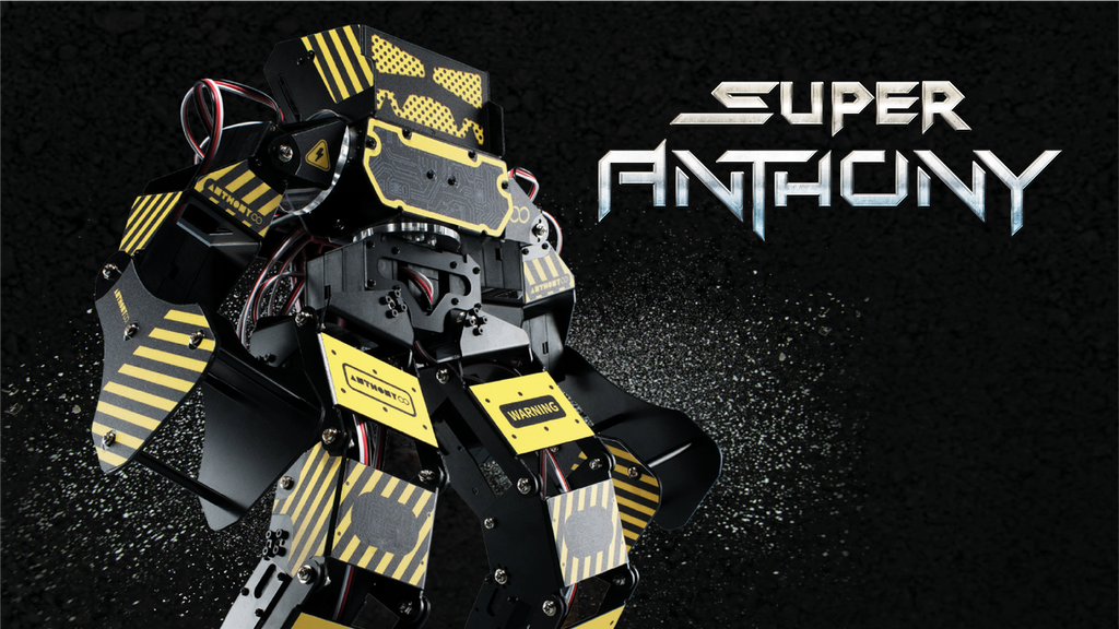Super Anthony: The Battle Robot with 45 Kg Servo Force Punch project video thumbnail