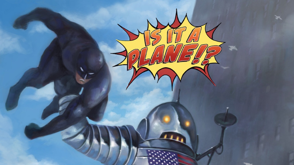 IS IT A PLANE!?: comic book RPG that replaces dice with pens project video thumbnail