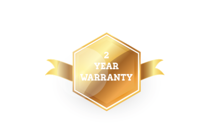 A two year warranty with all AV watches