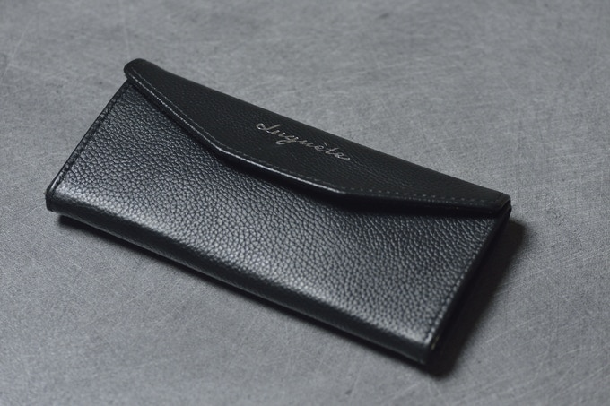 folded black