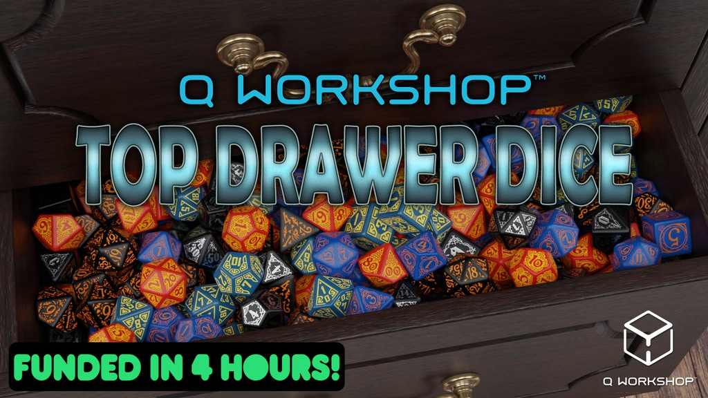 Q WORKSHOP Top Drawer Dice project video thumbnail