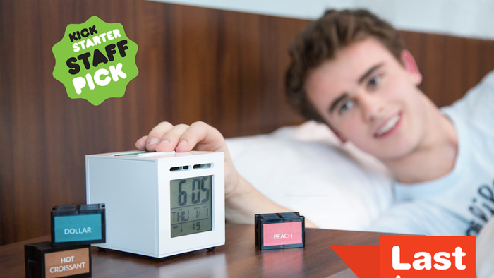 The world's first olfactory alarm clock, invented to make your mornings happy thanks to your favorite scent! We've launched next-generation at http://Trio.Sensorwake.com