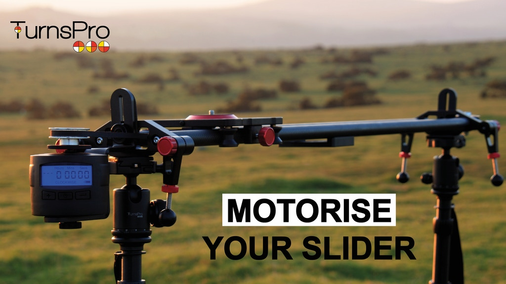 Motorise your slider with TurnsPro project video thumbnail