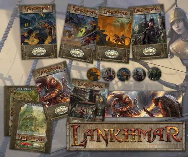 The Savage World of Lankhmar debuted in 2015 (2016 for retail) and is available now!