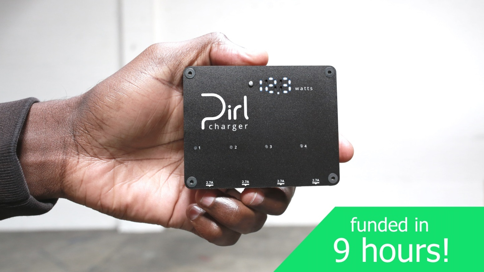 Pirl Charger - The most powerful 4 port charger.