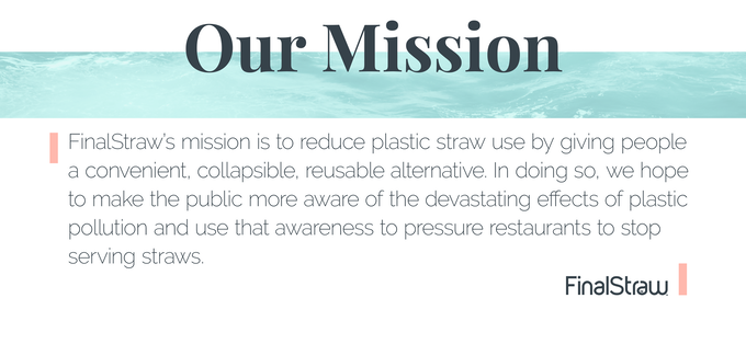 FinalStraw, the world's first collapsible, reusable straw by