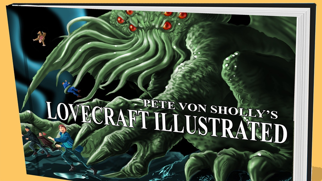PETE VON SHOLLY'S LOVECRAFT ILLUSTRATED project video thumbnail