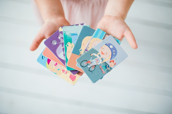 2. Colorful cards