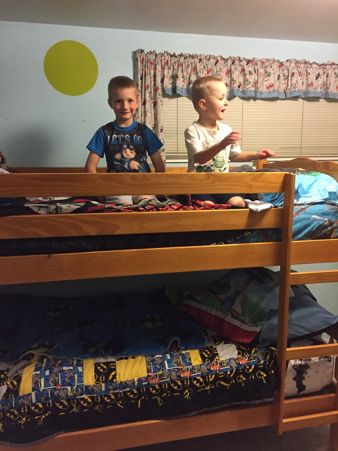 A 7 Year-Old's Special Place: The Top Bunk