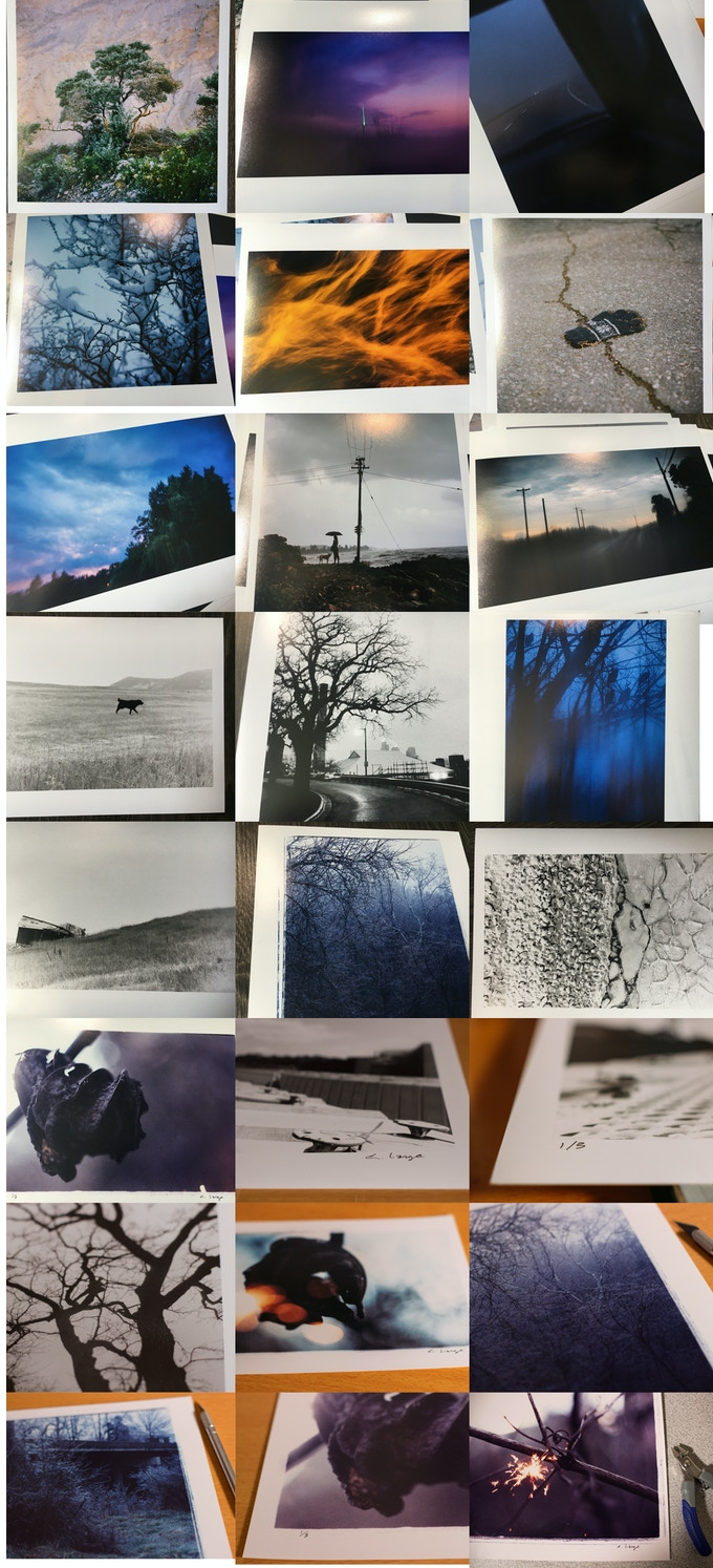 Limited Edition film photographs by the director, printed professionally (analog and digital prints)!!