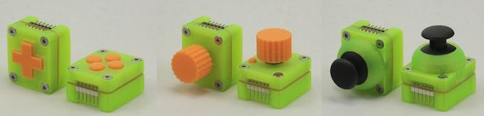 Input modules: Buttons, Encoder, Josytick