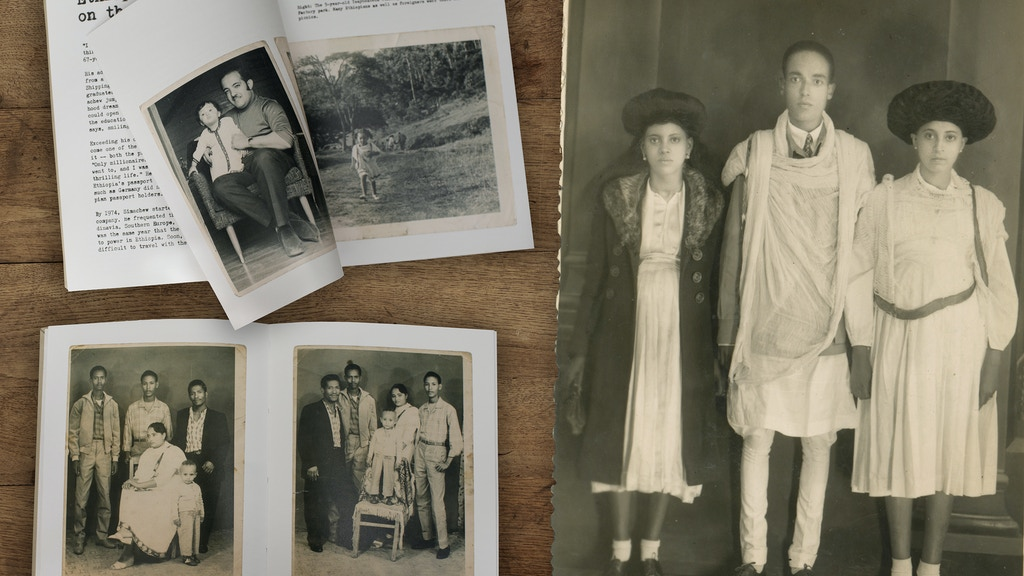 Vintage Addis Ababa – the photo book project video thumbnail