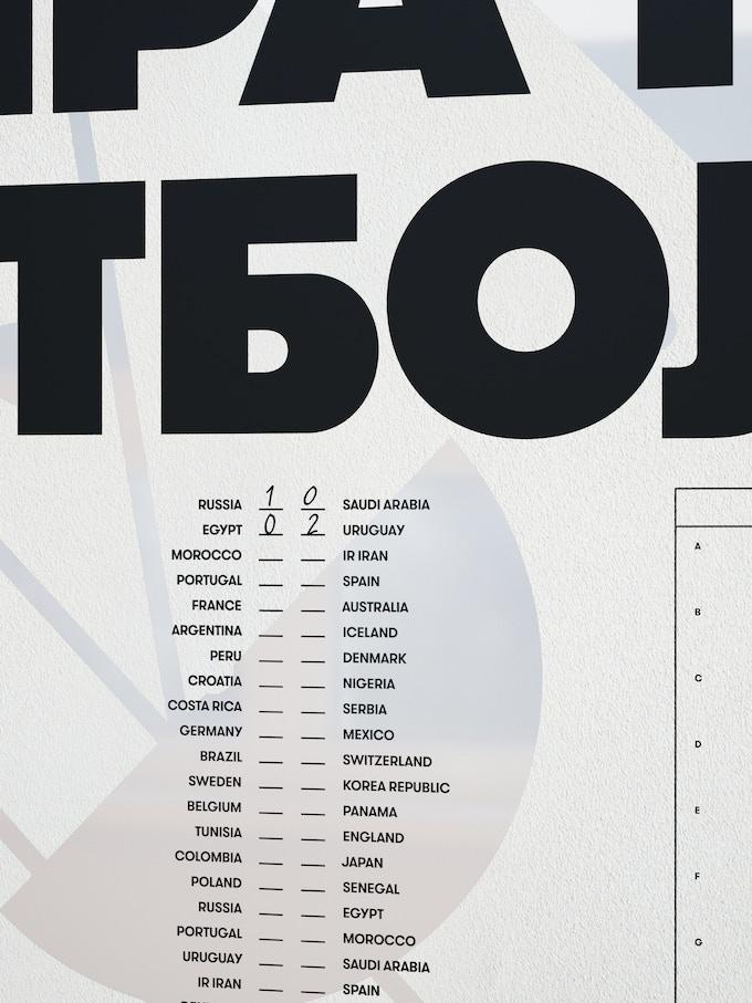 Чемпионат мира по футболу 2018 - расписание