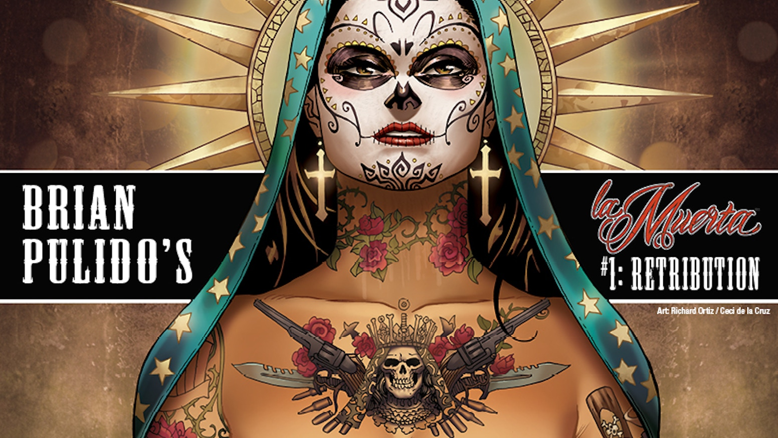 B. PULIDO'S NEWEST GRAPHIC NOVEL: LA MUERTA #1: RETRIBUTION!